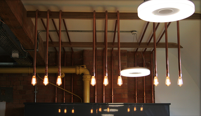 Proici Lighting installed in UNiDAYS