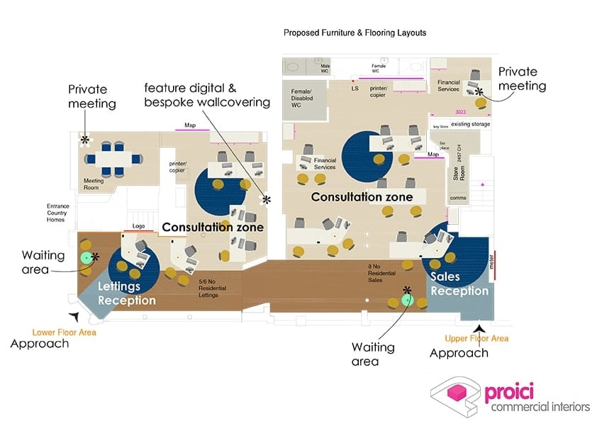 Abbotts Interior plan