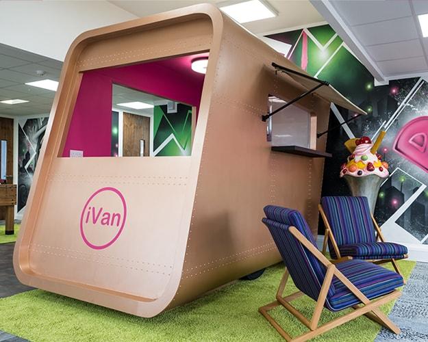Proici Showroom - Front of iVan Mobile