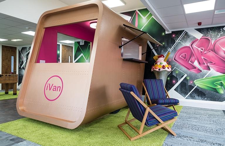 Proici iVan in the Proici Head Office